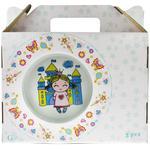 Набір посуду GgP для дівчат порцеляновий дитячий - купити, ціни на Ашан - фото 1
