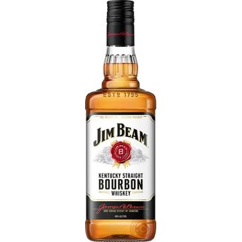 Виски Jim Beam White Bourbon 40% 500мл - купить, цены на Novus - фото 2