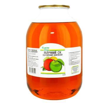 Сок Каждый день яблочный восстановленный осветленный пастеризованный 3л