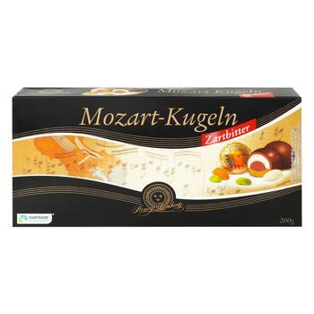 Конфеты шоколадные Mozart-Kugeln Henry Lambertz c марципаном 200г