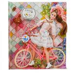 Іграшка Emily Лялька з велосипедом