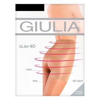 Giulia Slim Nero Women's Tights 40den 5s - buy, prices for MegaMarket - image 1