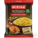 Вермишель Мивина со вкусом курицы неострая 60г