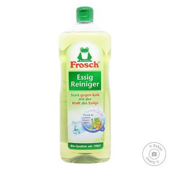 Средство Frosch Сода для чистки с яблочного уксуса универсальный 1л - купить, цены на Ашан - фото 2