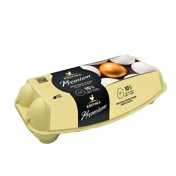 Яйца куриные Квочка Premium С0 10шт