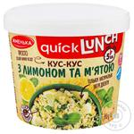 Zhmenka Couscous with Lemon and Mint 70g - buy, prices for Auchan - image 1