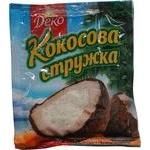 Shavings Deko coconut white for desserts 25g
