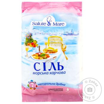 Salute di mare sea ​​salt 600g - buy, prices for MegaMarket - image 1