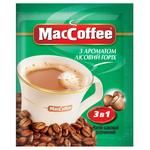 Instant coffee drink MacCofee Hazelnut 3in1 with coffee extract stick sachet 18g
