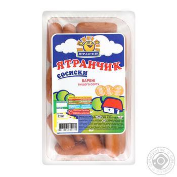 Yatran boiled sausages 350g - buy, prices for Furshet - image 1