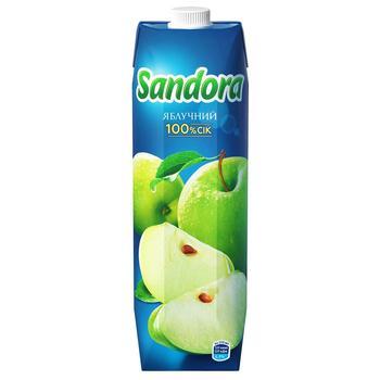 Сок Sandora яблочный 0,95л - купить, цены на Varus - фото 1
