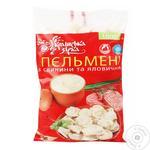 Пельмені ТМ Українська зірка 1 кг св/ял