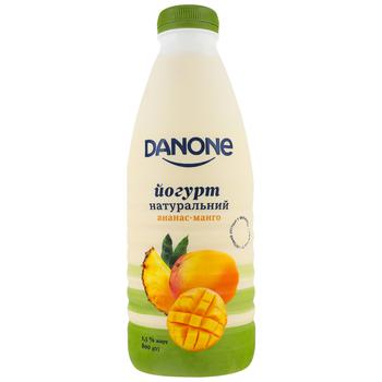 Danone Pineapple-Mango Drinking Yogurt 1,5% 800g - buy, prices for CityMarket - photo 1