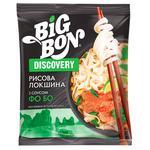 Лапша Big Bon рисовая быстрого приготовления по-вьетнамски с соусом Фо Бо 65г