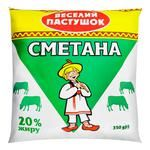 Veselyi Pastushok Sour Cream 20% 350g