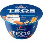 Savushkin Product Greek 2% Cereals with Flax Fiber Yogurt 140g