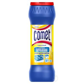 Comet Cleaning powder Lemon universal 475g - buy, prices for Furshet - image 1
