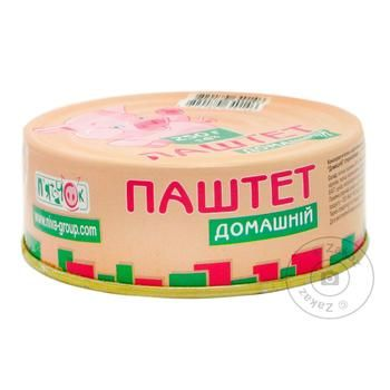 Паштет Пятачок Домашний ж/б 250г - купить, цены на Novus - фото 1