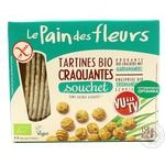 Le Pain des fleurs free gluten-salt-sugar wheat crispbread 150g - buy, prices for Novus - image 2
