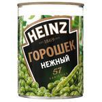 Горошек Heinz зеленый консервированный 400г