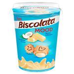 Печенье Biscolata Mood с кремом из белого шоколада и кокосом 125г