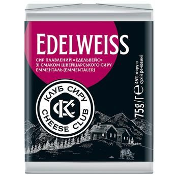 Cheese Club Edelweiss 45% Cheese 75g