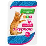Корм Чистая ВыгоДА! для взрослых кошек с курицей 100г