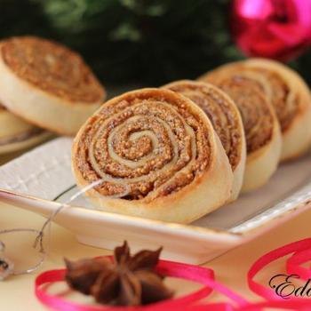 Творожное печенье с инжиром