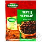 Перець чорний Avokado мелений 20г