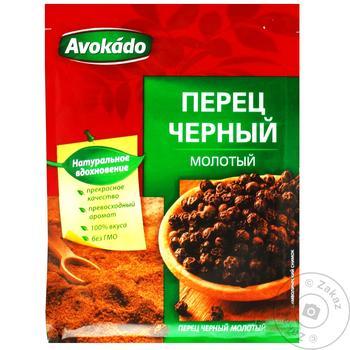 Перец черный Avokado молотый 20г