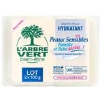 L'Arbre Vert Toilet Soap for Sensitive Skin 2x100g