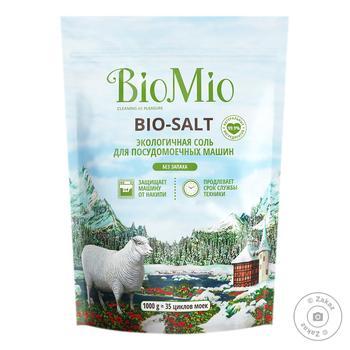 BioMio Salt For Dishwasher 1kg - buy, prices for  Vostorg - image 1