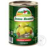 Dolyna Zhelanyy Olives with Anchovy 260g