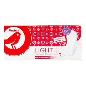Auchan Daily Thin Deodorized Pads 30pcs - buy, prices for Auchan - photo 1
