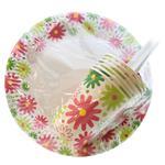 Набор посуды Унипак бумажный одноразовый