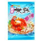 Лапша Hezhong рисовая со вкусом морепродуктов 105г
