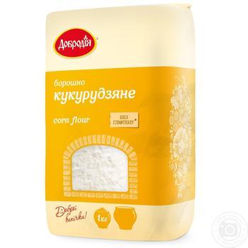Dobrodia Corn Flour - buy, prices for Novus - image 1
