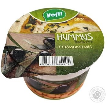 YoFi! With Olives Hummus - buy, prices for Furshet - image 1
