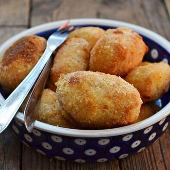 Крокеты из творога с картофелем