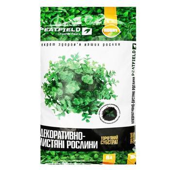 Субстрат торфяний Peatfield для декоративно-листяних 6л - купити, ціни на Ашан - фото 1