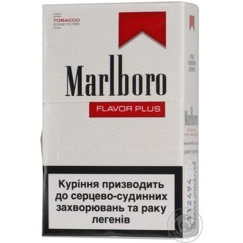 Сигареты Marlboro Flavor Plus