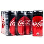 Coca-Cola Zero Strongly Carbonated Drink 0,33l - buy, prices for Novus - image 3