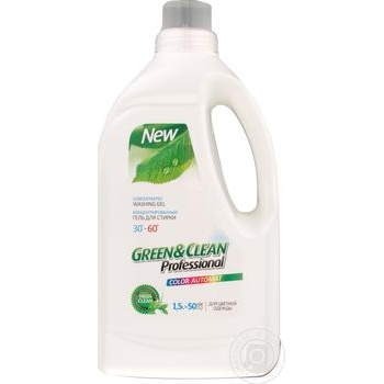 Gel Green&clean for washing 1500ml