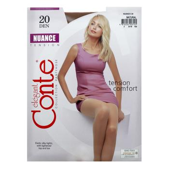 Conte Nuance 20 Den Natural Tights for Women Size 3 - buy, prices for CityMarket - photo 3