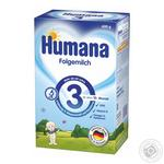 Суміш суха молочна Humana Folgemilch 3 з 10 місяців 600г