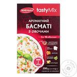 Рис Басматі Жменька з овочами 200г - купити, ціни на МегаМаркет - фото 1