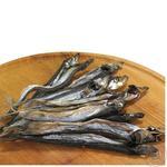 Fish capelin sun dried