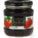 Jam Gaisyn strawberries with cream 525g