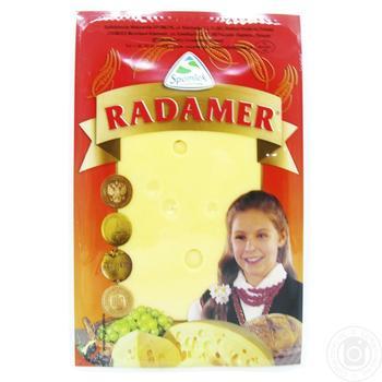 Сир Spomlek Радамер твердий нарізаний 45% 150г - купити, ціни на CітіМаркет - фото 1