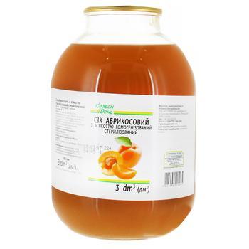 Kozhen den apricot juice 3l